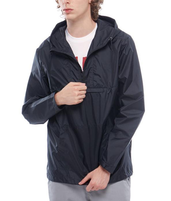 Купить Ветровка мужская Vans Washburne Anorak, цвет: черный. VA371GBLK. Размер XS (44/46)