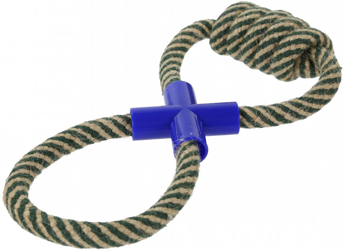 Игрушка для собак Regatta Tug-Of-War Toy, цвет: серый tug of war