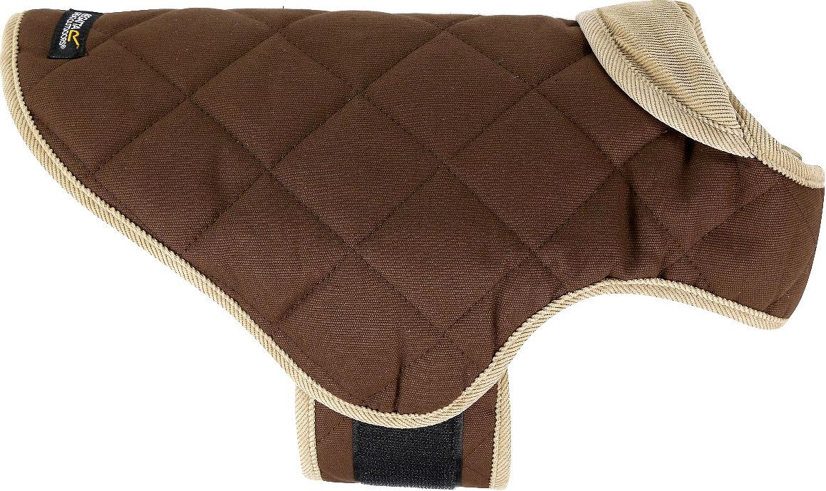 Попона для собак Regatta Chillguard Dog Ct, цвет: коричневый. Размер L