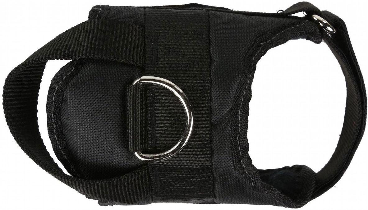 """Шлейка Regatta """"Refl Dog Harness"""", для собак, цвет: черный, обхват груди 40-45 см. Размер S"""