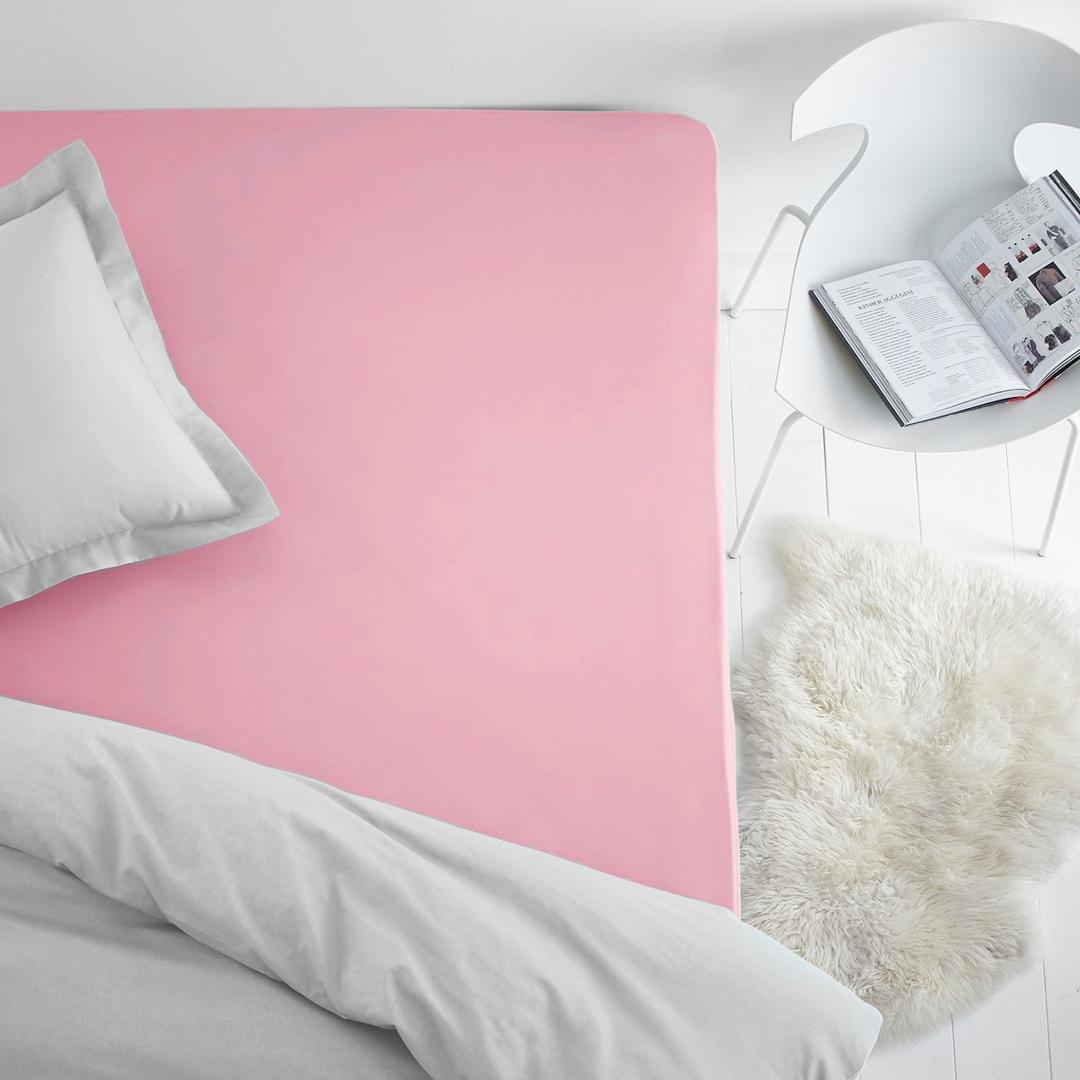 Простыня на резинке Dome, махровая, цвет: розовый, 140x200 смdme282295Махровая простынь из 100% хлопка - это выбор в пользу тепла, уюта долговечности и многофункциональности. Махровая ткань отлично отводит лишнюю влагу от тела, что дает ощущения чистоты и свежести даже в жаркую летнюю ночь. Резинка по всему периметру не даст простыне сбиться. Махровая простыня может выполнять так же и роль наматрасника, защищая матрац от пыли, а так же придавая дополнительную мягкость.