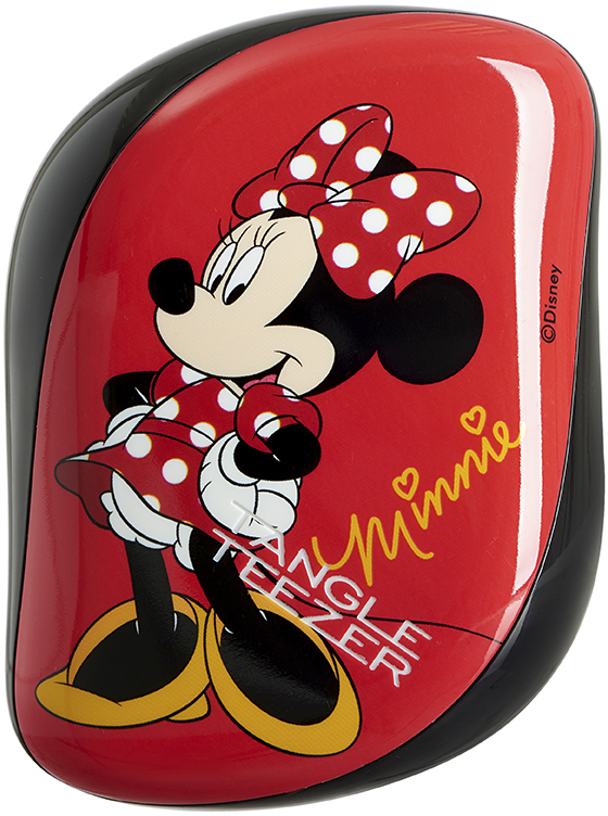 Tangle Teezer Расческа Compact Styler Minnie Mouse Rosy Red simba minnie mouse