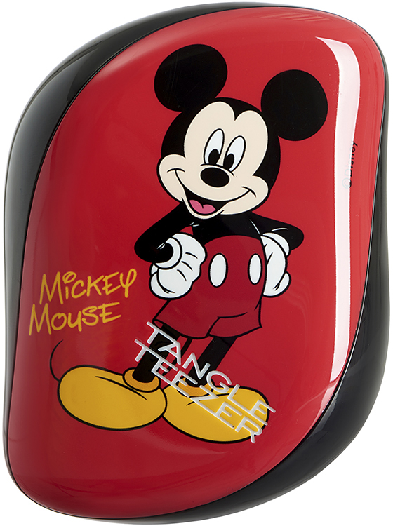 Tangle Teezer Расческа Compact Styler Mickey Mouse расчески sohyo b107 расческа lovely pink фуксия