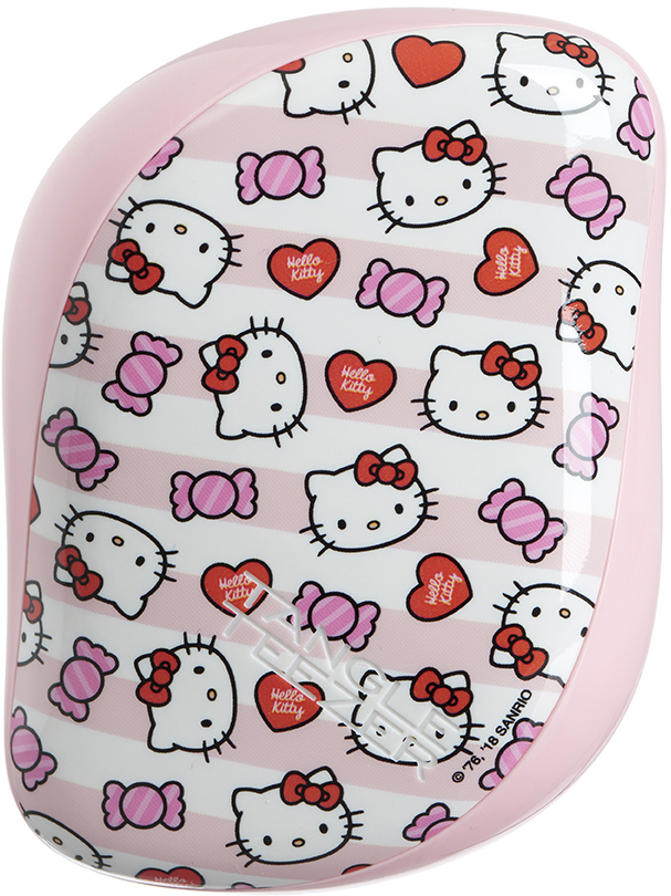 Tangle Teezer Расческа Compact Styler Hello Kitty Candy Stripes расческа tangle teezer compact styler hello kitty pink 1 шт