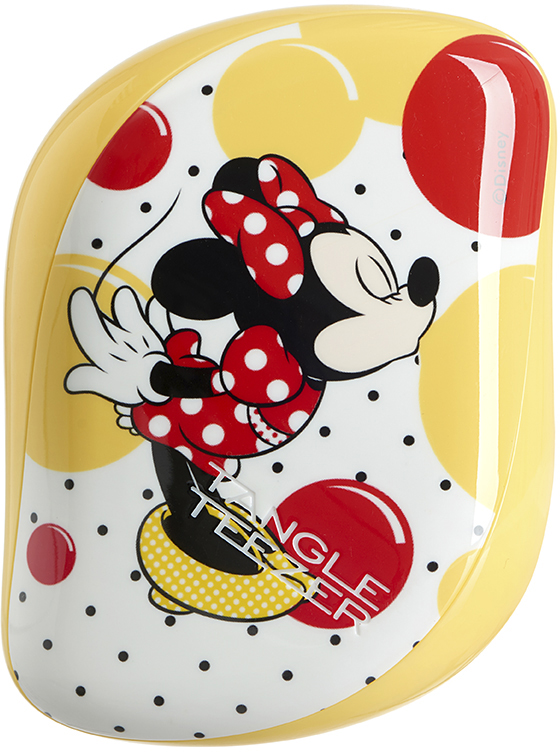 Tangle Teezer Расческа Compact Styler Minnie Mouse Sunshine Yellow расчески sohyo b107 расческа lovely pink фуксия