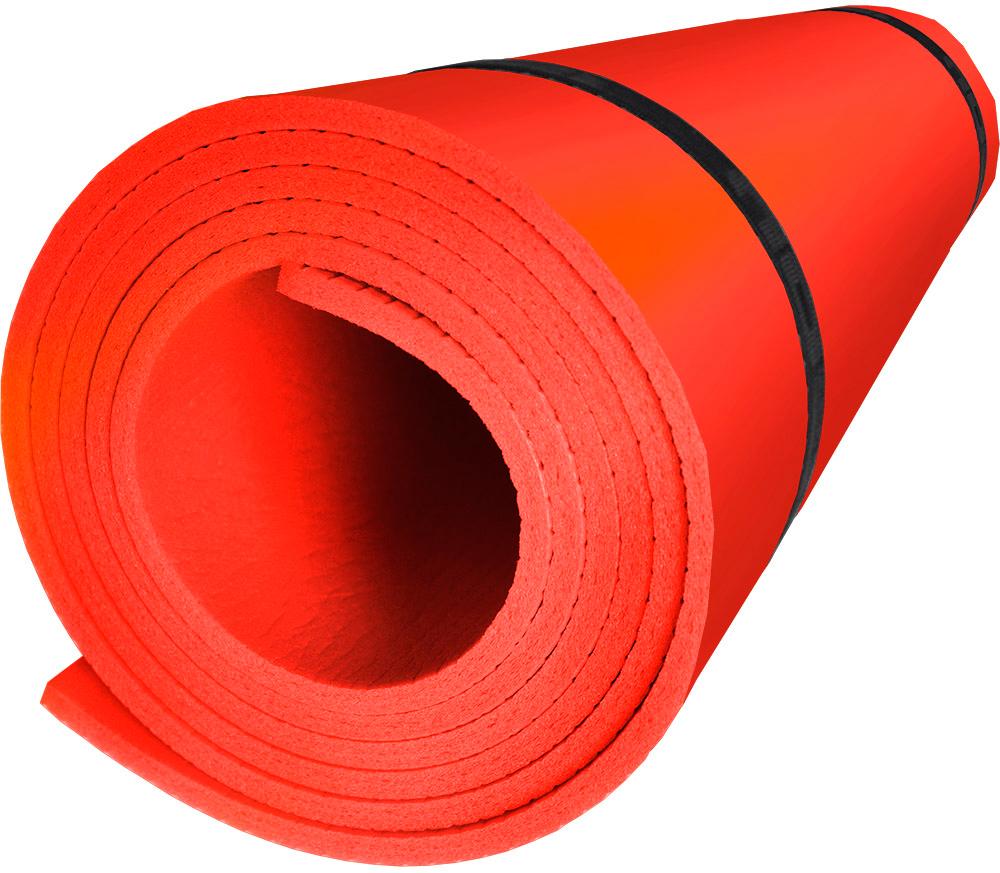 Коврик туристический Isolon Sport 5, цвет: красный, 180 х 60 х 0,5 см