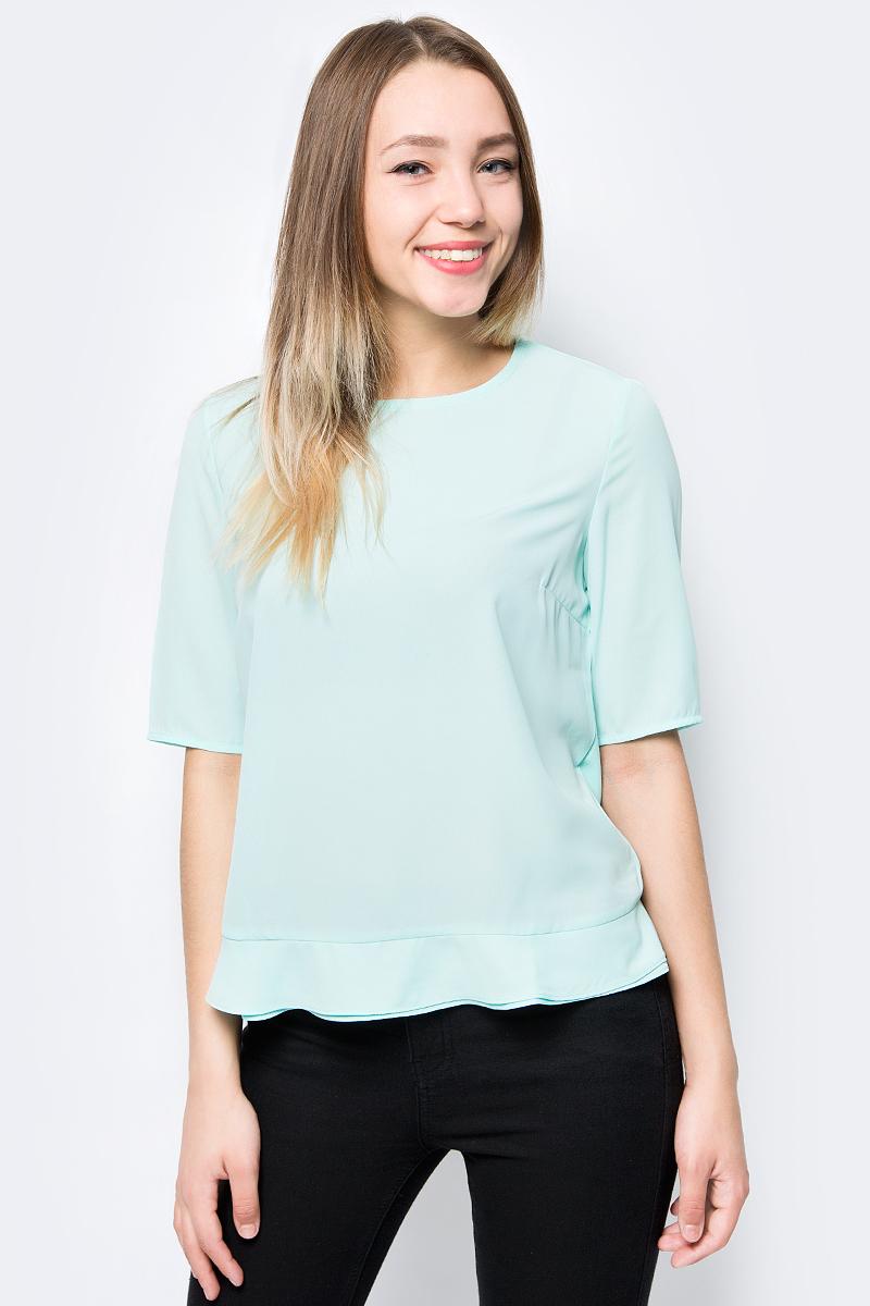 Блузка женская Sela, цвет: светло-зеленый. Tcs-111/783-8263. Размер 48