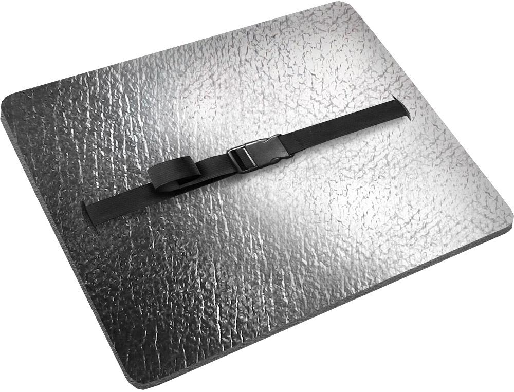 Сиденье изготовлено из химически вспененного полиэтилена марки ППЭ НХ Isolon 300. Застежка - фастекс. Дополнительный металллизированный слой.