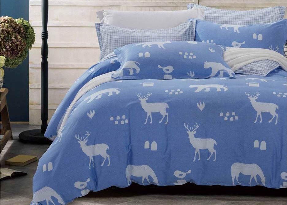 Комплект постельного белья Dome Escada, семейный, наволочки 70x70