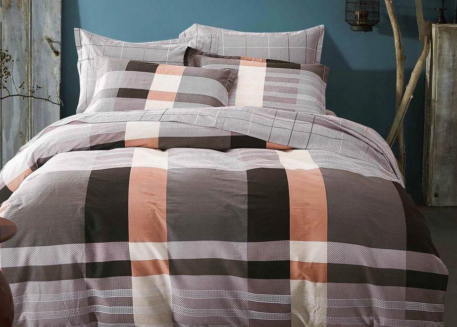 Комплект постельного белья Dome Davey, 2-спальный, наволочки 70x70