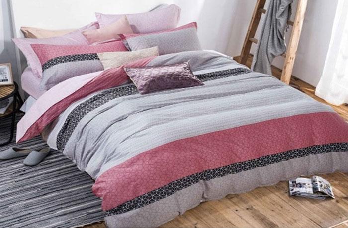 Комплект постельного белья Dome Queen, семейный, наволочки 70x70