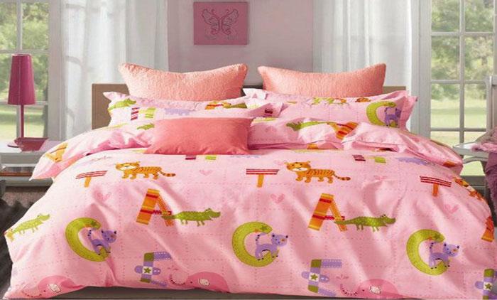 Комплект постельного белья Dome Win, семейный, наволочки 70x70