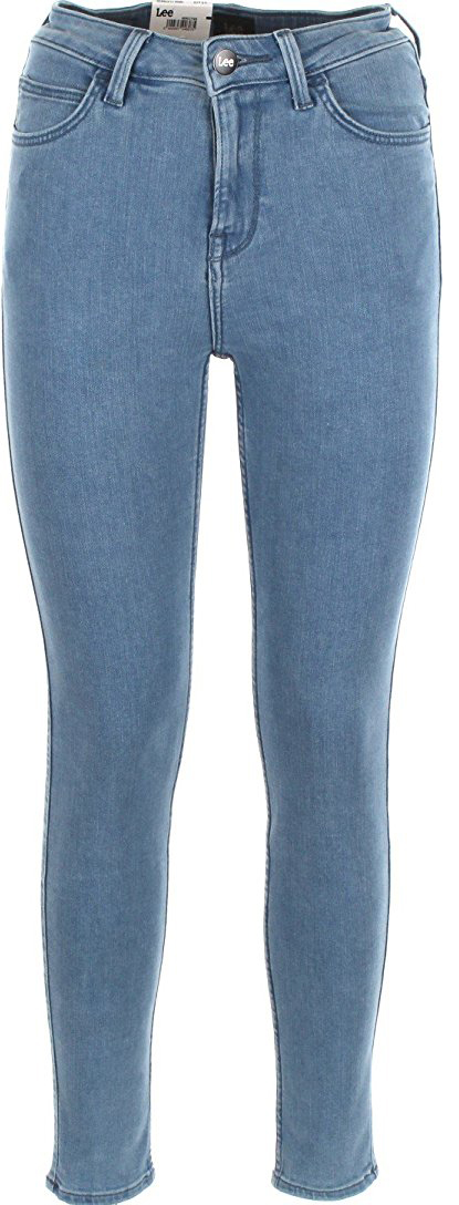 Джинсы женские Lee Scarlett High, цвет: синий. L626HABM. Размер 32-31 (48-31) джинсы женские lee цвет синий l305aifa размер 30 35 46 35