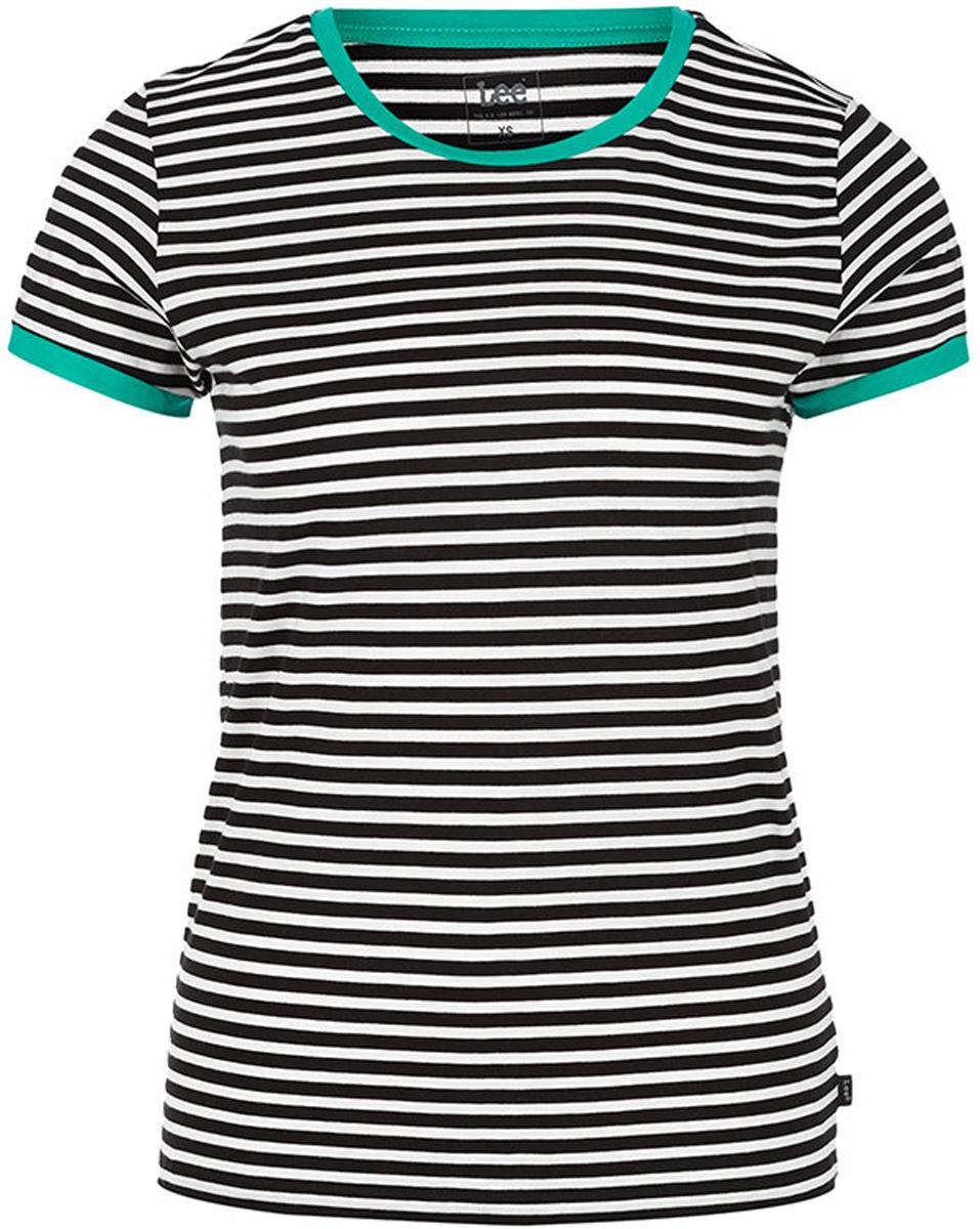 Футболка женская Lee, цвет: белый. L41GRVEH. Размер S (42) футболка женская lee цвет белый черный l41erweh размер xs 40
