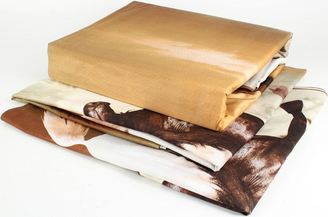 Сатин средней плотности – золотая середина среди сатинового постельного белья. Он достаточно плотный, долго не изнашивается, но стоит дешевле сатина повышенной плотности. Комплект из сатина не блестит как шелк, но приятен на ощупь и довольно мягкий. Краска на этой ткани держится очень хорошо: новое белье не полиняет и со временем не станет выцветать.