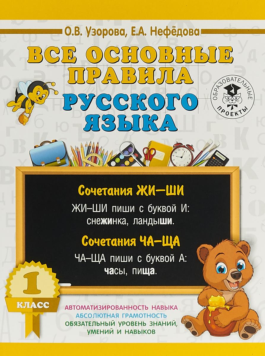 Все основные правила русского языка. 1 класс основные правила разведчика