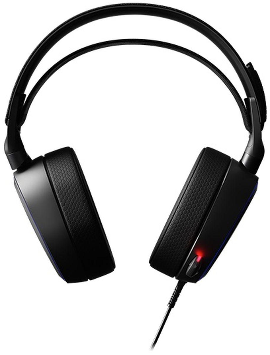SteelSeries Arctis Pro 61486, Black игровые наушники наушники с микрофоном steelseries arctis pro gamedac мониторы черный [61453]