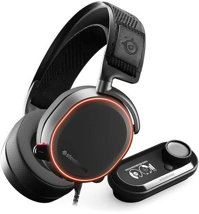 SteelSeries Arctis Pro + GameDAC 61453, Black игровые наушники наушники с микрофоном steelseries arctis pro gamedac мониторы черный [61453]