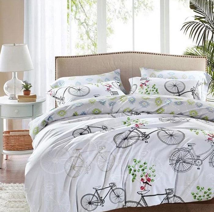 Комплект постельного белья Tango Kimberleigh, евро, наволочки 50x70, цвет: серый беспроводной маршрутизатор ubiquiti nanostation loco m5