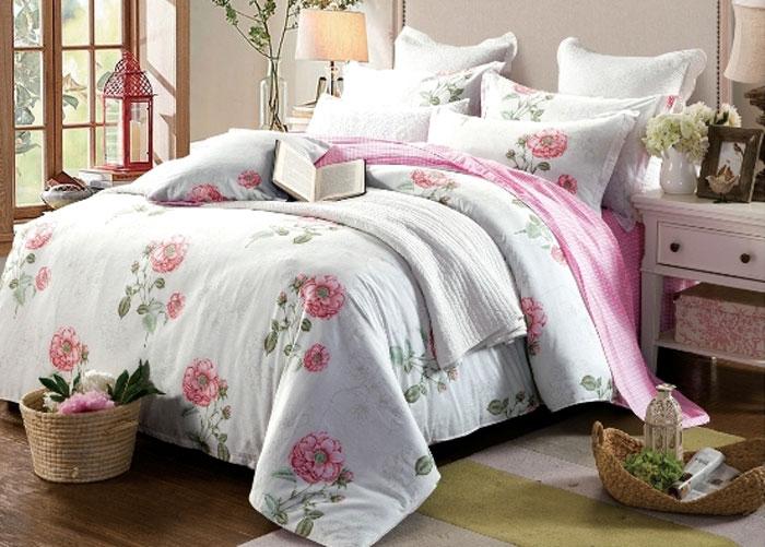 Комплект постельного белья Eleganta Adallina, 1,5-спальный, наволочки 70x70 eleganta eleganta фотошторы блюз
