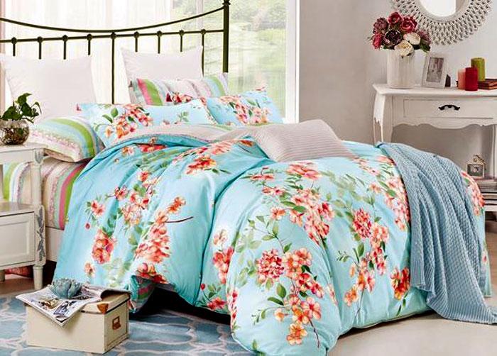 Комплект постельного белья Eleganta Vally, семейный, наволочки 50x70 eleganta eleganta фотошторы блюз