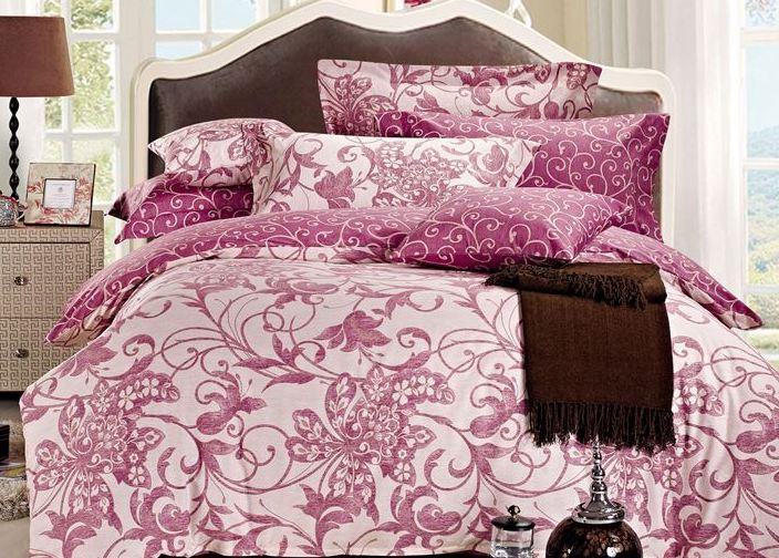 Комплект постельного белья Eleganta Juliet, 2-спальный, наволочки 70x70 комплект постельного белья 2 спальный из сатина seta цвет голубой розовый