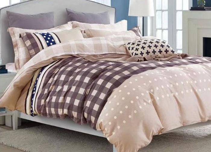 Комплект постельного белья Eleganta Tommaso, евро, наволочки 70x70 eleganta eleganta фотошторы блюз