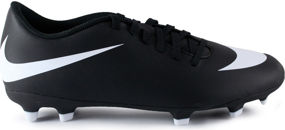 Бутсы мужские Nike Bravata Ii Fg, цвет: черный. 844436-001. Размер 8,5 (41)