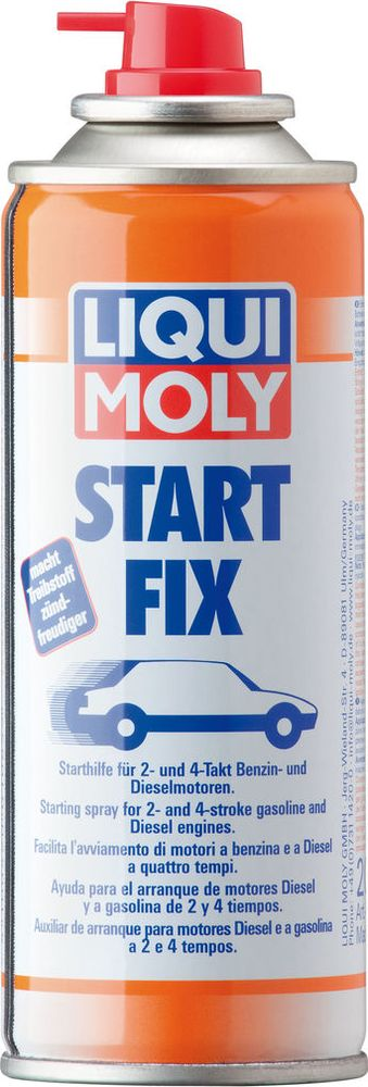 Купить Средство для запуска двигателя Liqui Moly Stari Fix