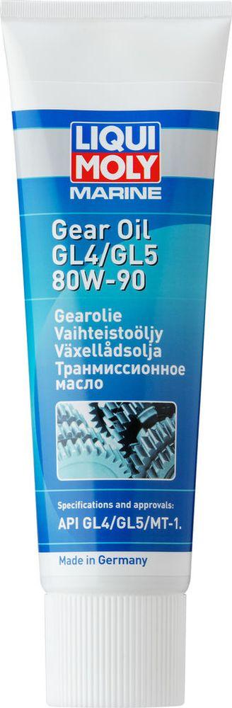 """Трансмиссионное масло Liqui Moly """"Marine Gear"""", минеральное, для водной техники, класс вязкости 80W-90, 0,25 л 25031"""