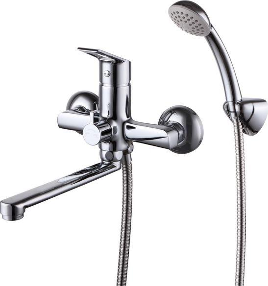 Смеситель для ванны и душа Milardo Amur, с поворотным изливом. AMUSBC0M02AMUSBC0M02Смеситель для ванны Milardo® изготовлен из высококачественной первичной латуни, прочной, безопасной и стойкой к коррозии. Инновационные технологии литья и обработки латуни, а также увеличенная толщина стенок смесителя обеспечивают его стойкость к перепадам давления и температур.Увеличенное никель-хромовое покрытие полностью соответствует европейским стандартам качества, обеспечивает его стойкость и зеркальный блеск в течение всего срока службы изделия.Благодаря гладкой внутренней поверхности смесителя, рассекателям в водозапорных механизмах и аэратору он имеет минимальный уровень шума. В комплект входят лейка и шланг из нержавеющей стали длиной 1,5 м. Гарантия на смесители Milardo® – 7 лет. Гарантия на лейку и шланг составляет 3 года.