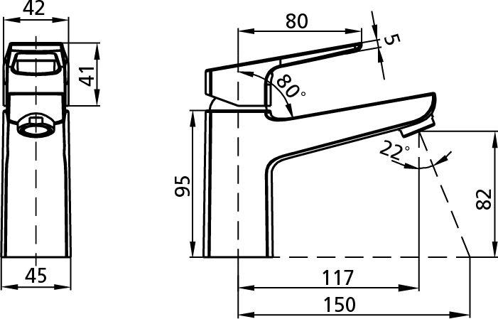 Смеситель для умывальника Milardo® изготовлен из высококачественной первичной латуни, прочной, безопасной и стойкой к коррозии. Инновационные технологии литья и обработки латуни, а также увеличенная толщина стенок смесителя обеспечивают его стойкость к перепадам давления и температур.  Увеличенное никель-хромовое покрытие полностью соответствует европейским стандартам качества, обеспечивает его стойкость и зеркальный блеск в течение всего срока службы изделия.  Благодаря гладкой внутренней поверхности смесителя, рассекателям в водозапорных механизмах и аэратору он имеет минимальный уровень шума. Гарантия на смесители Milardo® – 7 лет.