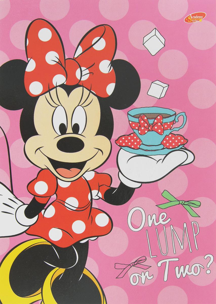 Disney Блокнот Minnie Mouse 40 листов disney блокнот раскраска принцессы мой волшебный мир 12 листов