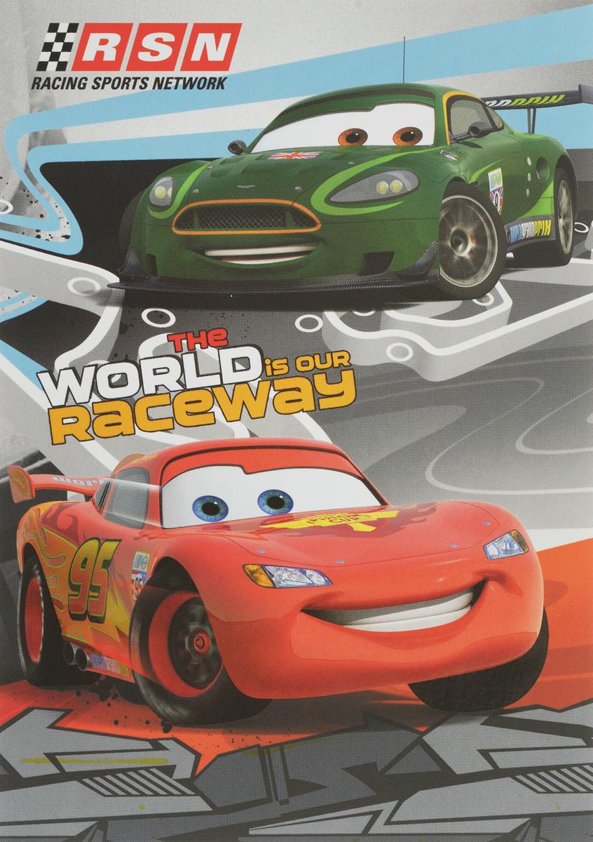 Disney Блокнот Cars 40 листов disney блокнот раскраска принцессы мой волшебный мир 12 листов