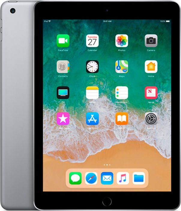 "Apple iPad 9.7"" (2018) Wi-Fi 128GB, Space Grey"