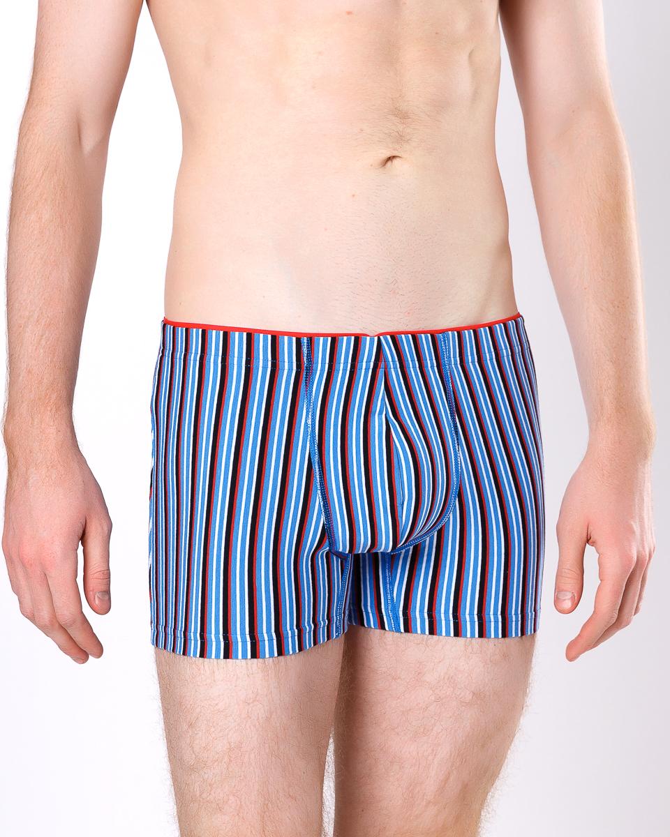 Трусы мужские Mark Formelle Полоска, цвет: синий. 411134_30083. Размер 52411134_30083