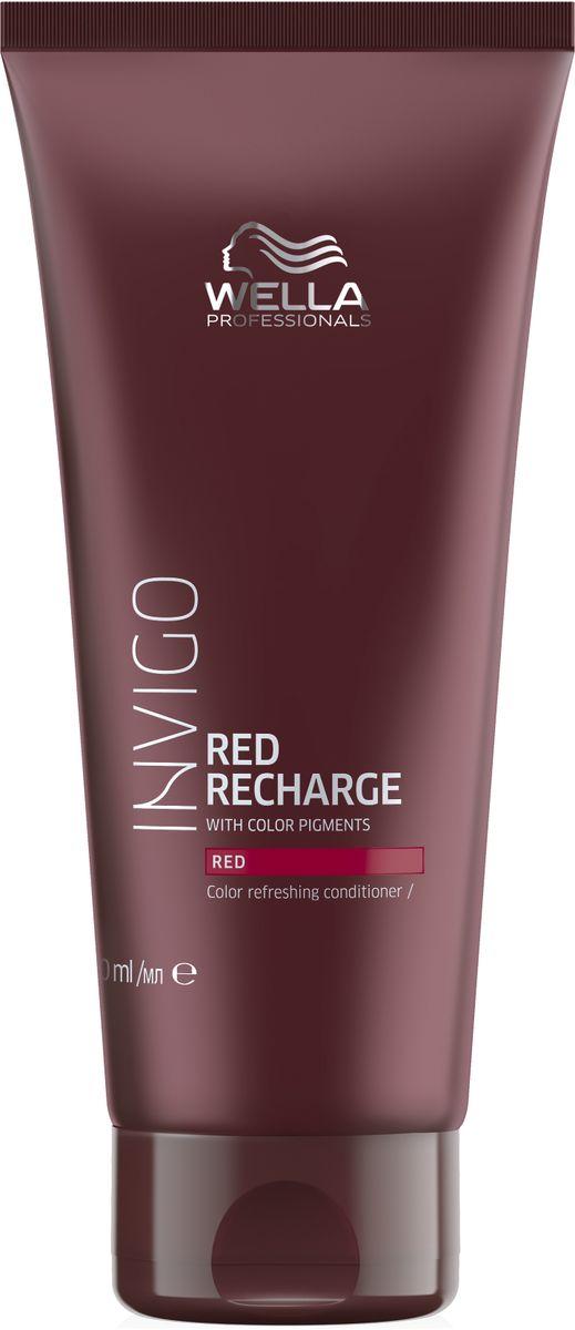 Wella Invigo Color Recharge Оттеночный бальзам-уход для красных оттенков, 200 мл81650091Оживляет и поддерживает интенсивность цвета волос, окрашенных в красные оттенки. Содержит увлажняющие ингредиенты для интенсивного ухода.Объем: 200 мл