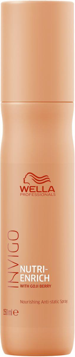 Wella Invigo Nutri Enrich Питательный спрей-антистатик, 150 мл wella professionals elements несмываемый увлажняющий спрей 150 мл