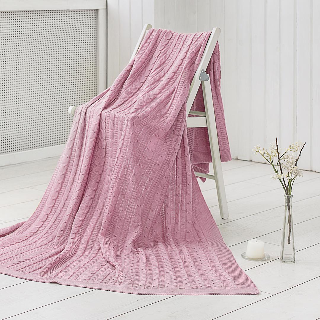 Плед Dome Kappe, цвет: розовый, 150 х 200 см покрывало на кресло quelle heine home 23077 3 ок 250х220 см