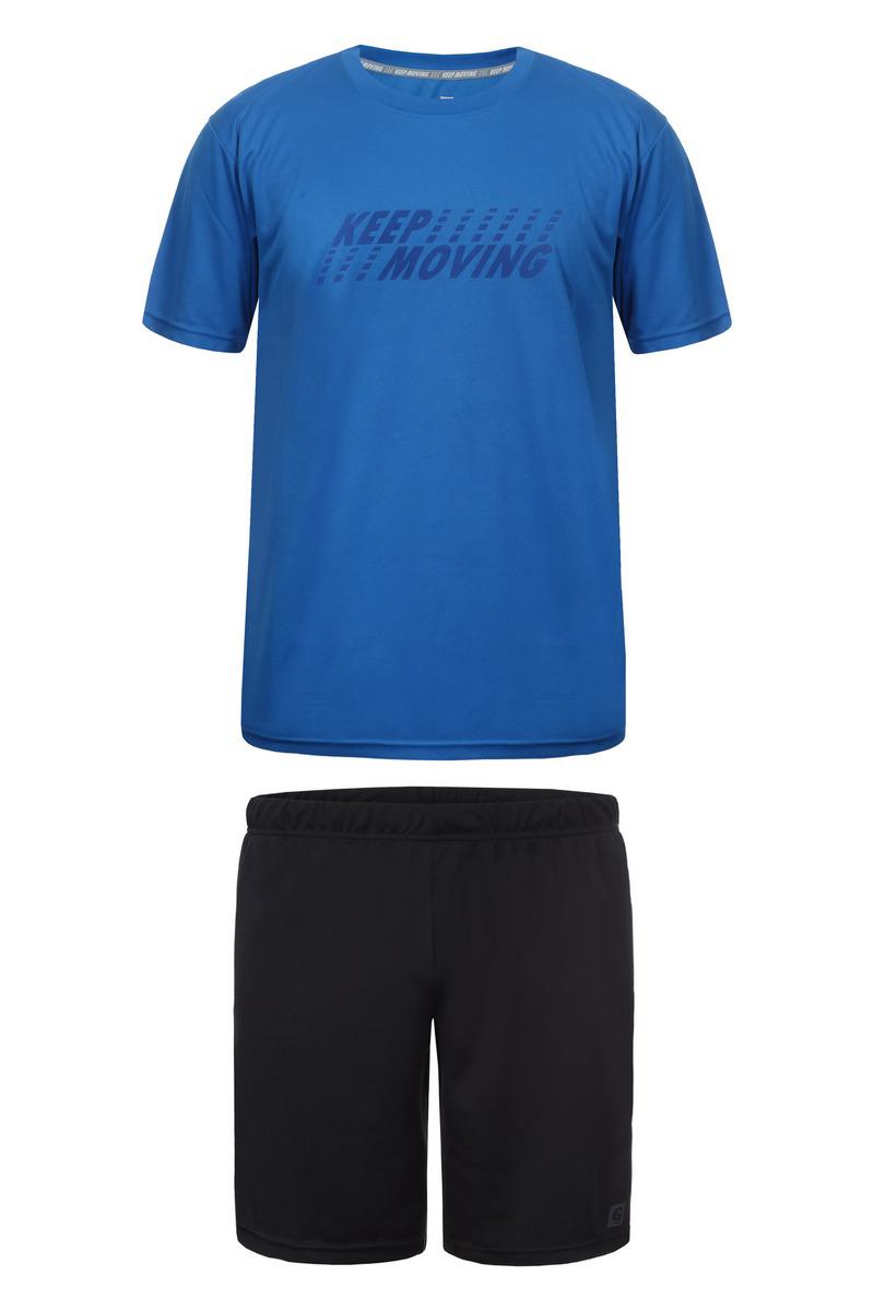 Комплект одежды мужской Guahoo, цвет: синий, черный. G33-8600SET/BL/BK. Размер XXL (56) все цены