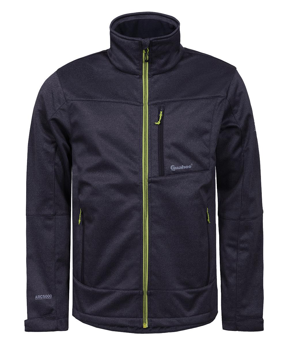 Купить Куртка мужская Guahoo, цвет: темно-серый. G42-9460J/DGY. Размер XXL (56)