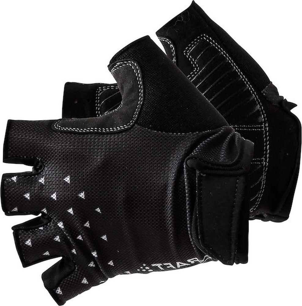 Велоперчатки Craft Go Glove, цвет: черный, белый. 1906148/999900. Размер L (10)1906148/999900