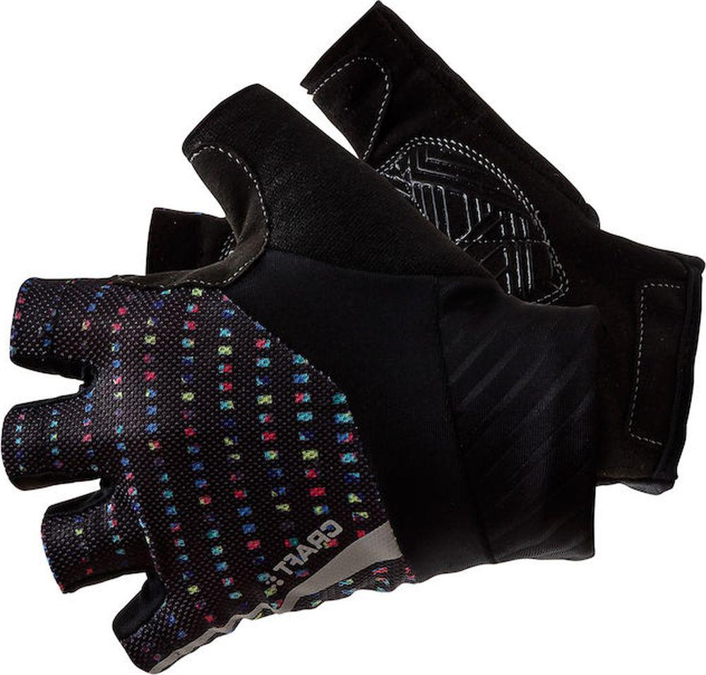 Велоперчатки Craft Rouleur, цвет: черный. 1906149/999007. Размер S (8)1906149/999007