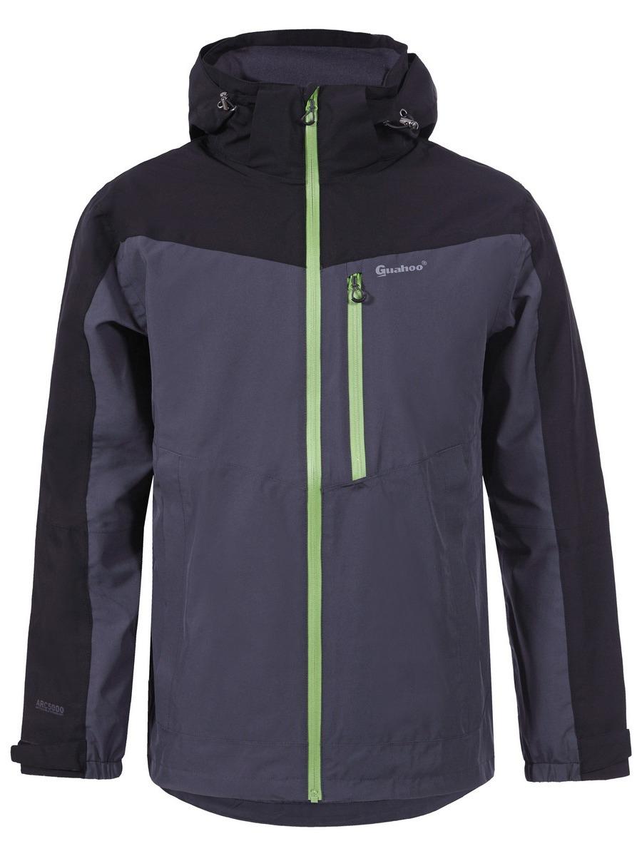 Куртка мужская Guahoo, цвет: черный. G42-9870J/BK. Размер XXL (56) куртка мужская guahoo цвет темно синий g42 8860j nv размер xxl 56