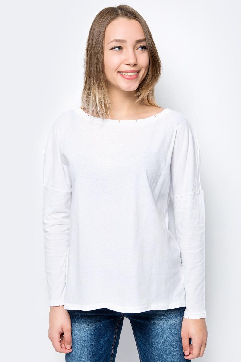 Футболка женская Sela, цвет: белый. T-111/1182-8216. Размер XS (42) женская футболка magic ] 2015 t a331 a351