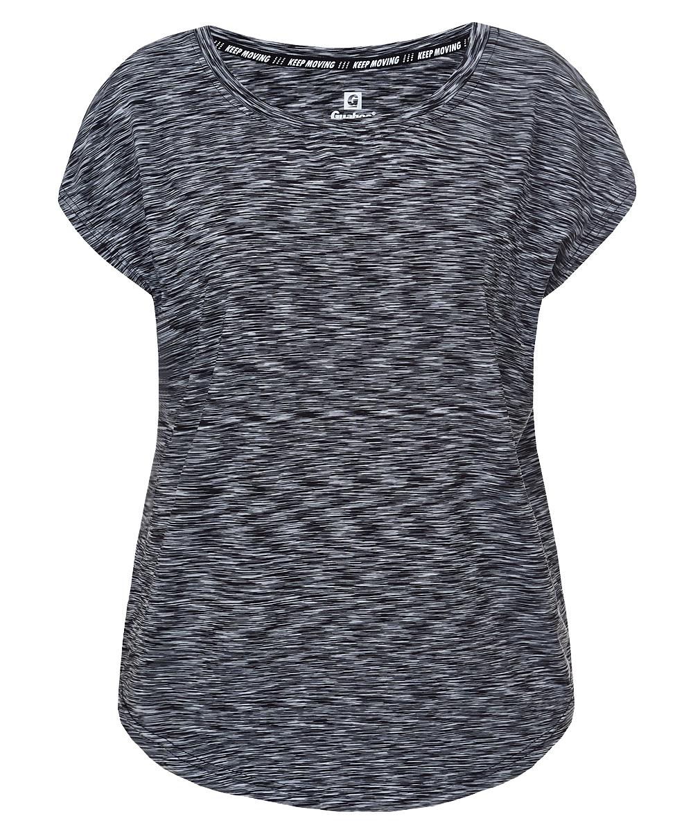 Футболка женская Guahoo, цвет: черный. G33-8521TS/BK. Размер M (46) термоноски guahoo цвет черный g52 9453cw bk размер 43 46