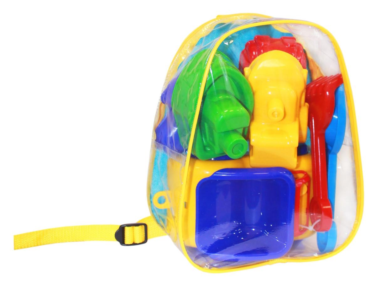 Пластмастер Игрушка для песочницы Подарочный набор Лето в рюкзачке №1