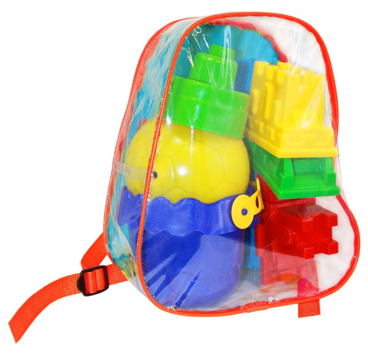 Пластмастер Игрушка для песочницы Подарочный набор Лето в рюкзачке №3