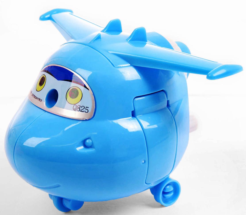 Точилка механическая с контейнером Вертолет цвет голубой 2924196 - Чертежные принадлежности