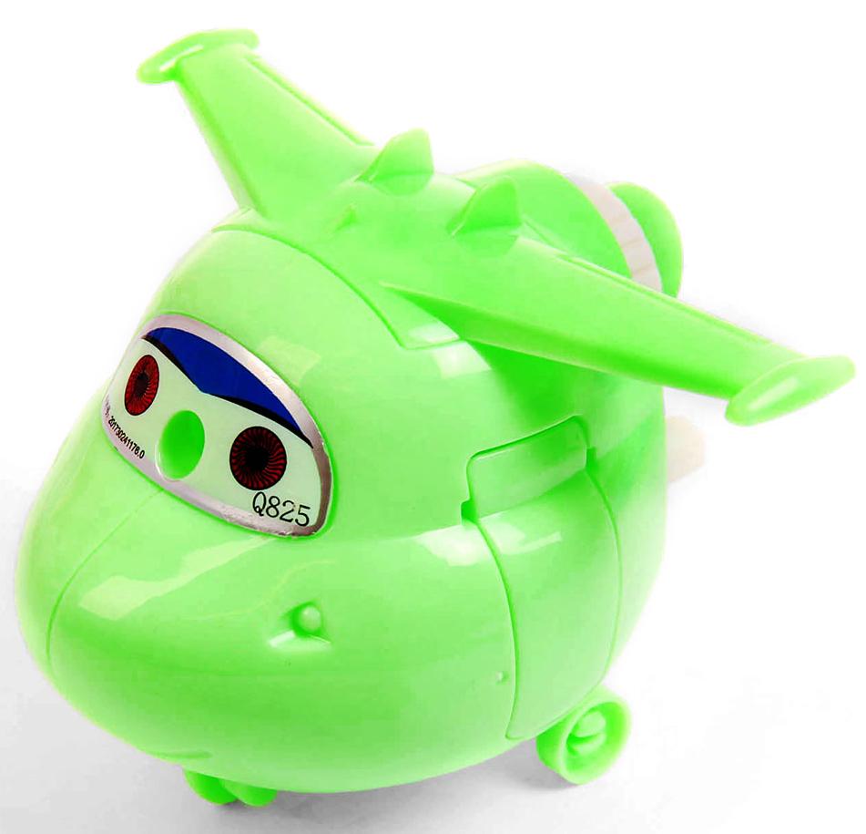 Точилка механическая с контейнером Вертолет цвет зеленый 2924196